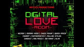 Digital Love Riddim Mix ft Chronixx, Romain Virgo, Queen Ifrica, Chuck Fender Iba Mahr Reggae