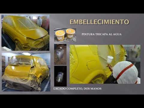 Cambio de color y sustitución parcial Renault SCENIC
