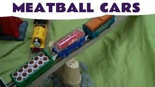 Trackmaster Thomas & Friends Spaghetti And Meatballs Delivery Trucks/cars Kids Toy Train Set
