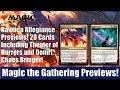 MTG Ravnica Allegiance Previews: 28 Cards Including Warrant and Warden and Domri, Chaos Bringer