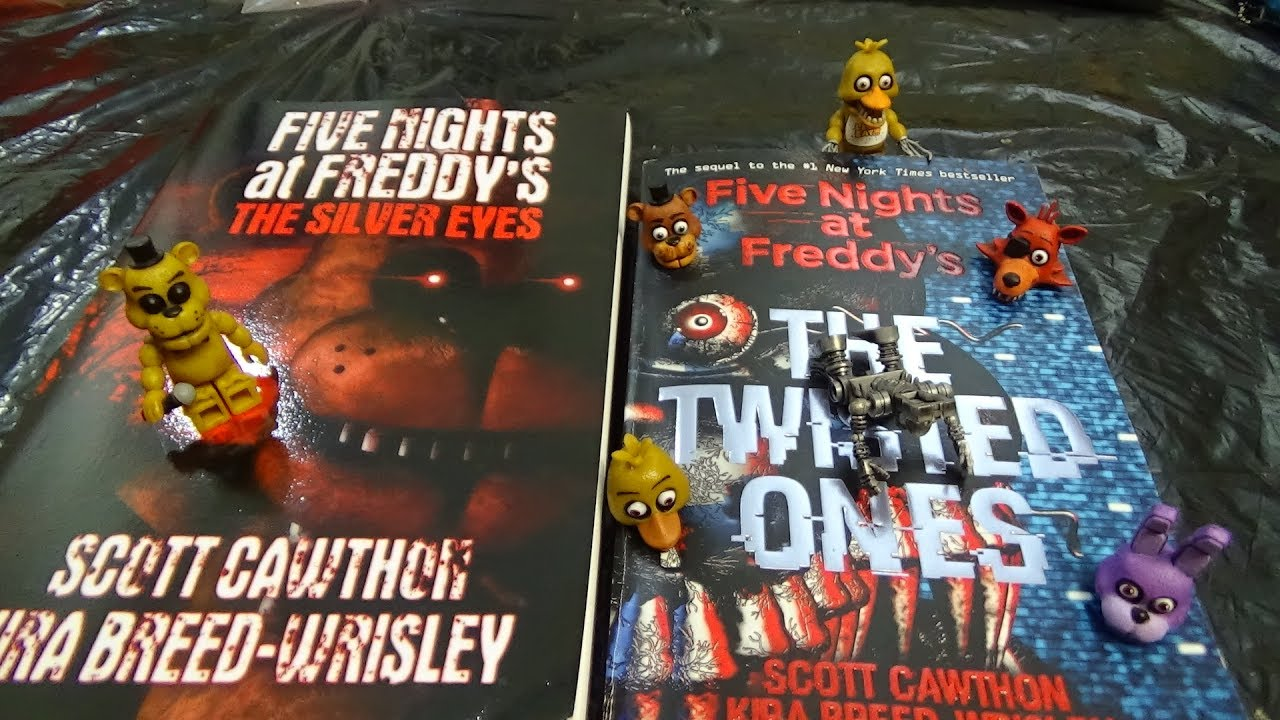 Fnaf The Silver Eyes Book