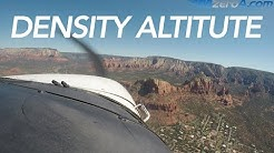 Flying a high density altitude pattern - Sedona AZ - MzeroA Flight Training