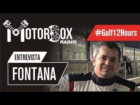#Gulf12Hours Norberto Fontana ganó en la clase GTX2 con Gini y Colombo Russell (declaraciones)