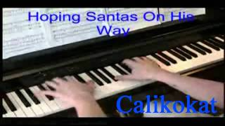 When Christmas Comes To Town - Polar Express - Piano