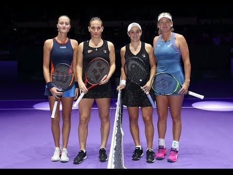 Vandeweghe/Barty vs. Babos/Mladenovic | 2018 WTA Finals Singapore Doubles Semifinals