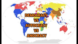 How Many in the World are in Democracy, Anocracy or Autocracy?