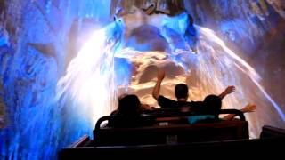 Full POV of Big Thunder Mountain Railroad at Disneyland featuring new effects