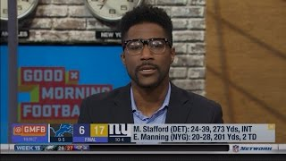 Nate Burleson & Schrager Not Off the Lions Bandwagon After Midgets Loss