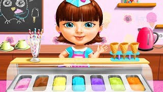 Sweet Baby Girl  Summer Fun 2 - Learn to Make Yummy Ice Cream Gameplay for Girls