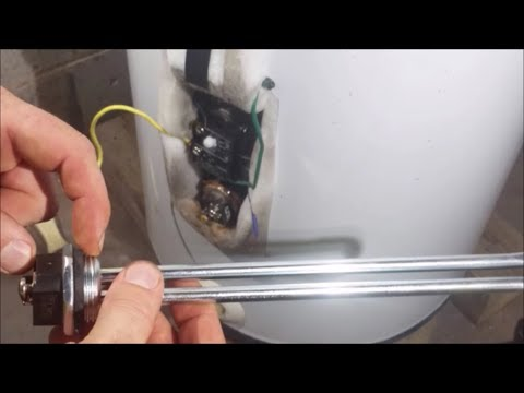 How To Replace The Lower Element On A Electric Water Heater