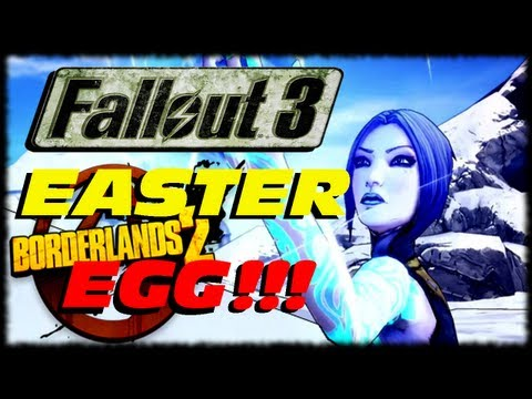 Borderlands 2 Fallout 3 Three Dog Easter Egg Gun Reference!!! Assassinate The Assassins (1080p)