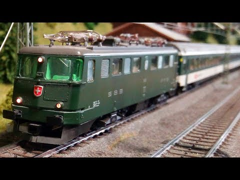 Cab ride on a super sized Marklin model railroad layout in HO gauge (Part #2)