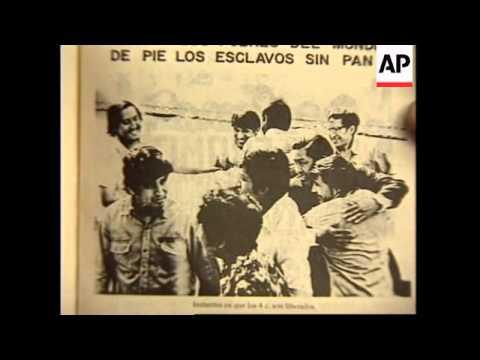PERU: LIMA: 6 SHOTS ARE HEARD AT BESIEGED JAPANESE EMBASSY