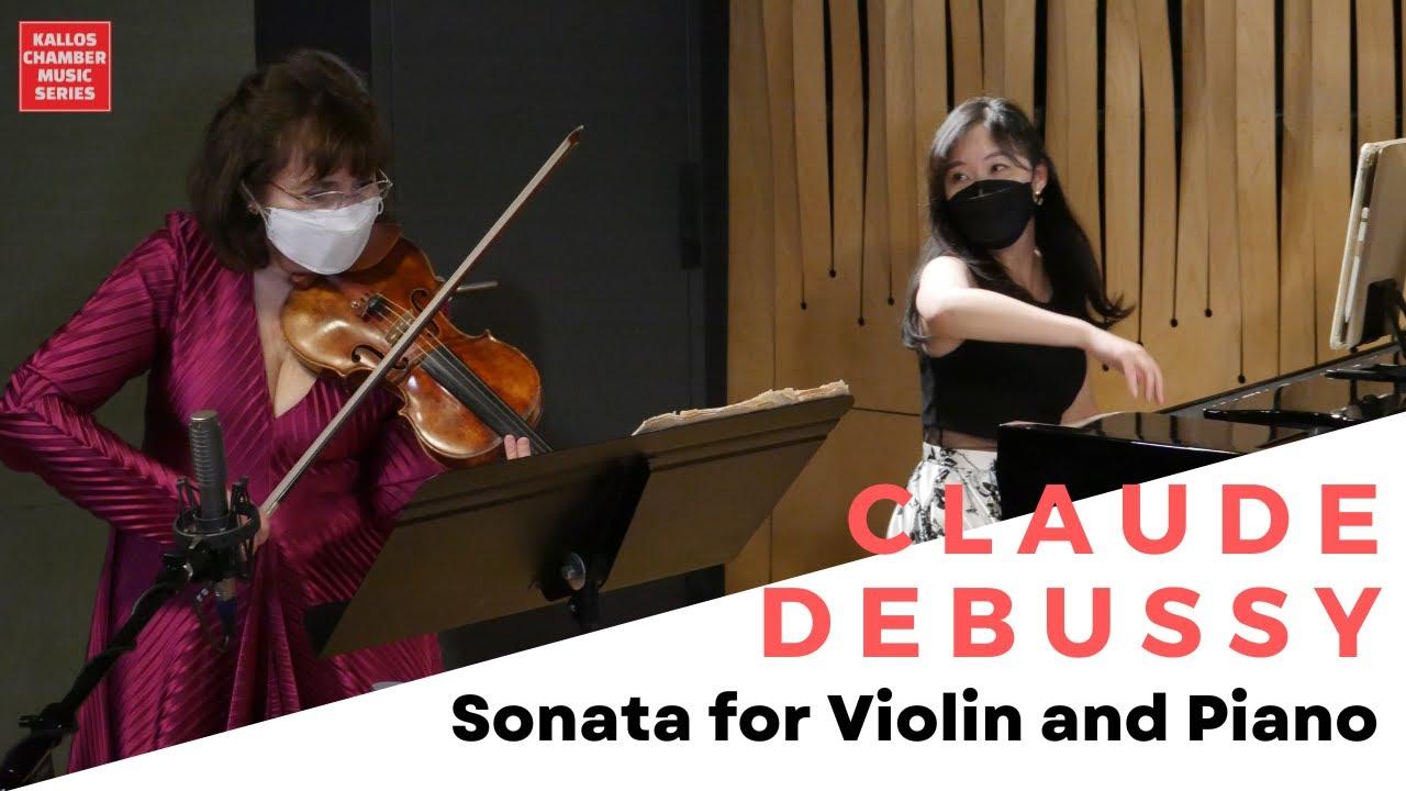 DEBUSSY: Sonata for Violin and Piano