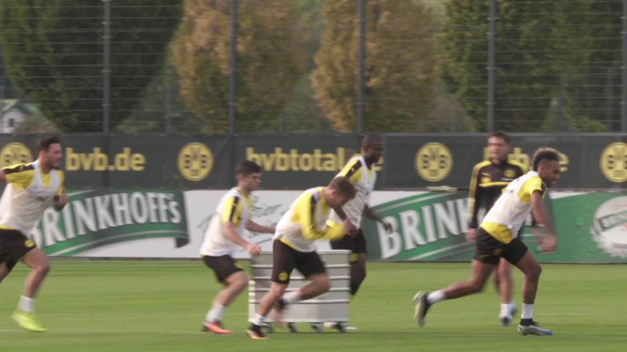 BVB-Abschlusstraining vor dem Heimspiel gegen Freiburg