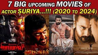 7 Big Upcoming Movies Of Suriya 2020 To 2024 | Actor Suriya's Upcoming Films | Trendswood Tv