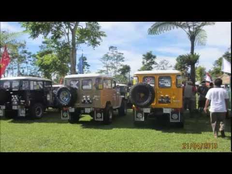 International Jambore Toyota Land Cruiser Indonesia Bali