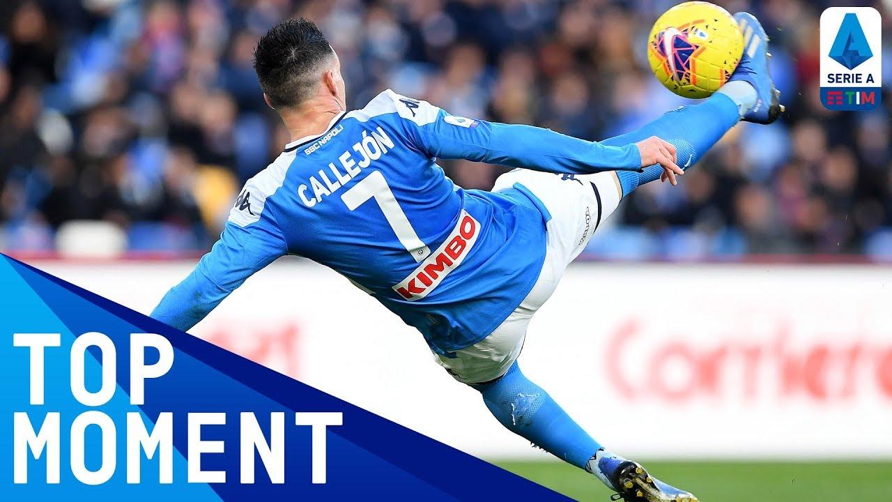 Callejon's UNREAL 90th-Minute Bicycle Kick! | Napoli 2-3 Lecce | Top Moment | Serie A TIM