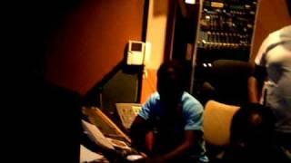 Di Genius recording session.. bigship recording studio.. pt1