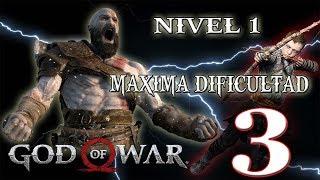 🔴 NIVEL 1- MAXIMA DIFICULTAD - GOD OF WAR - PARTE 3!!!