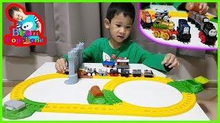 น้องบีม | รีวิวของเล่น EP133 | รถไฟโทมัสตามล่าหาสมบัติ Toys