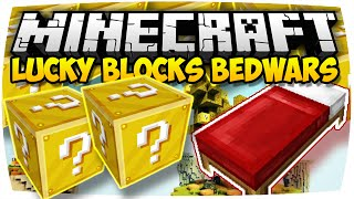 MINECRAFT: LUCKY BLOCKS BEDWARS » CARAVAN ♦ MINI-GAME | [Deutsch // HD]