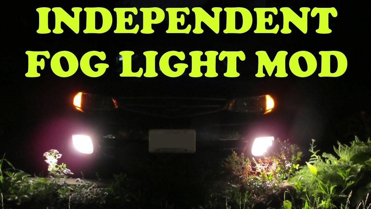 Independent Fog Light Mod