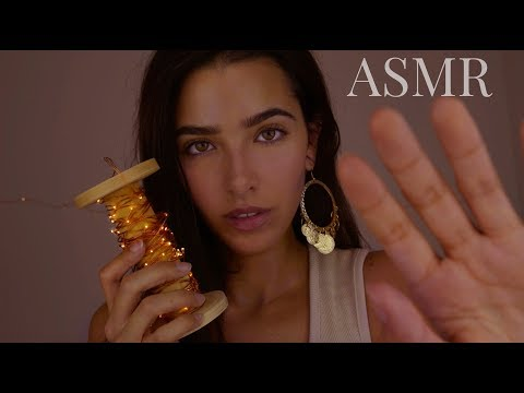 ASMR To Make You SO Sleepy (Brain massage, kisses, trigger words, echoes, mic brushing, humming...)
