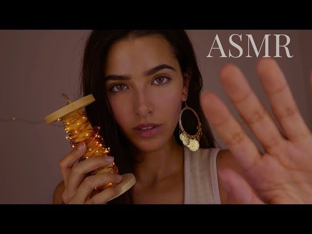 ASMR To Make You SO Sleepy (Brain massage, kisses, trigger words, echoes, mic brushing, humming...)