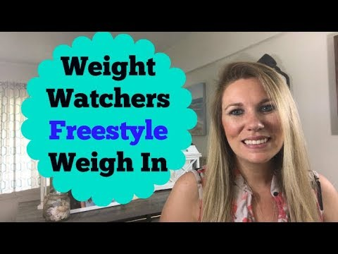 Weekly Weigh In On Weight Watchers Freestyle | Blue Dot Challenge SUCCESS!!