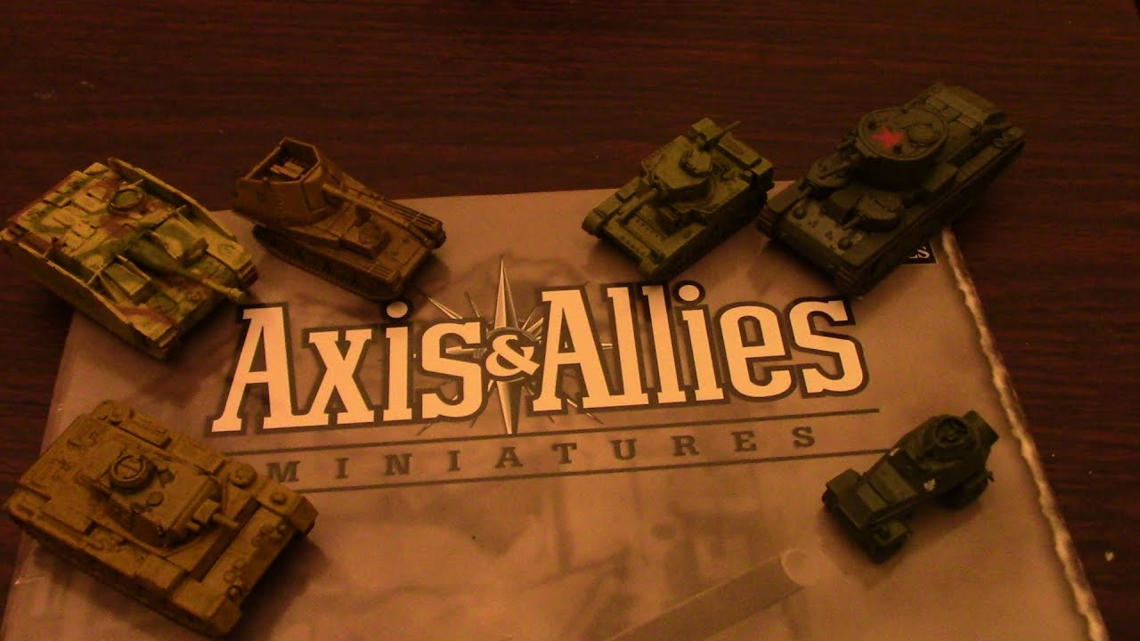 axis and allies miniatures discontinued