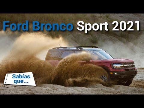 Ford Bronco Sport 2021 - Llega pronto y es fabricada en México | Autocosmos