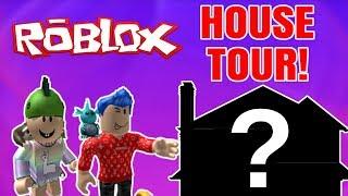 HOUSE TOUR!! - Celebrity #2 (Dansk Roblox)