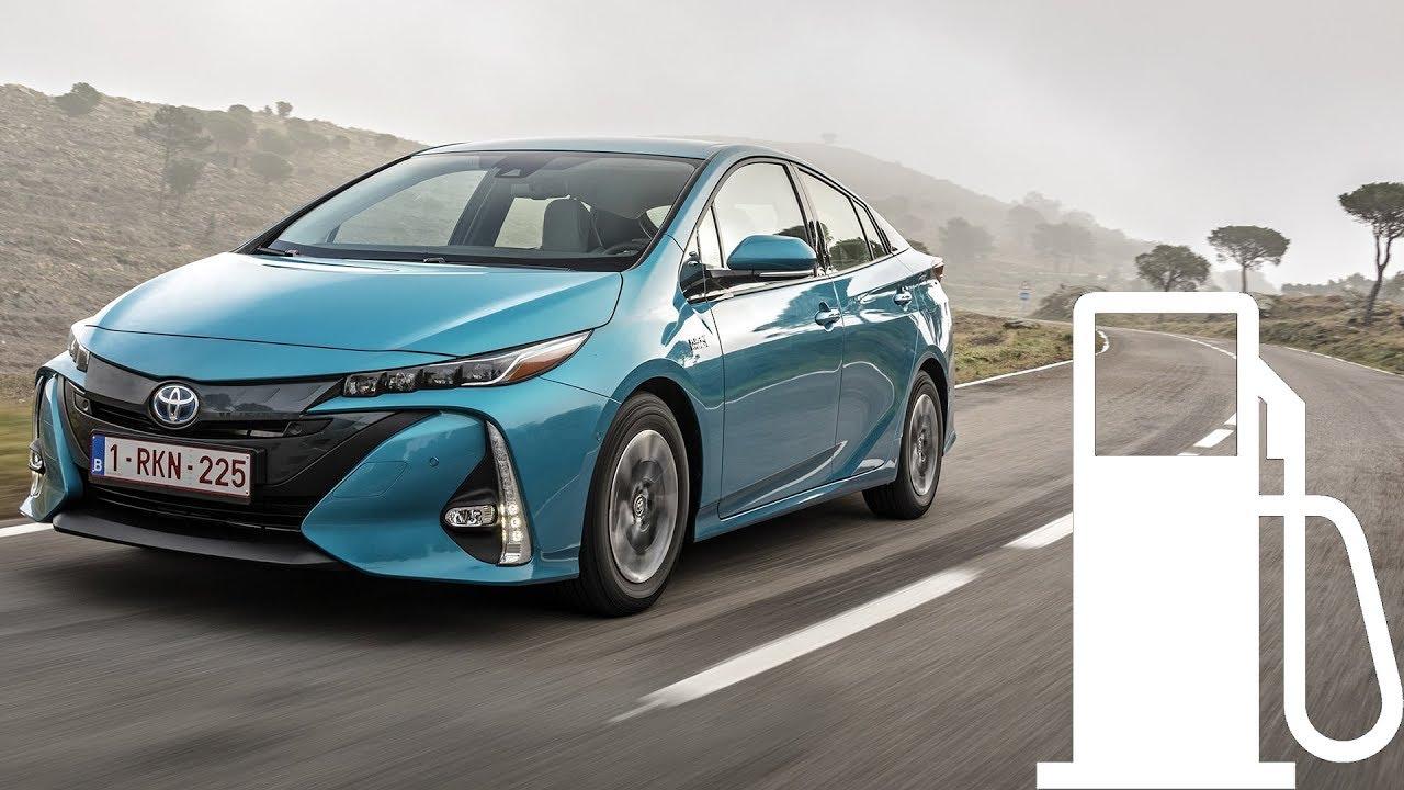 Toyota Prius Plug In Hybrid 2017 Fuel Consumption Ev City 90 120 140 Km H 1001cars