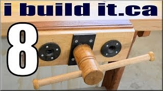 Making A Woodworking Vise, Part 8 Of 10