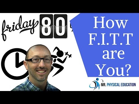 The FITT Principle - #Physed 101 - #001