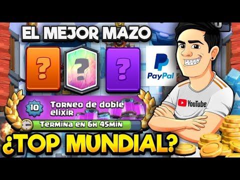 TOP MUNDIAL EN VIVO😎 EL MEJOR MAZO😈 SORTEOS EN VIVO🤑 | CLASH ROYALE