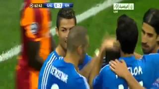 Galatasaray vs Real Madrid 1 6 All Goals & Full HighLights 17 09 2013 HD