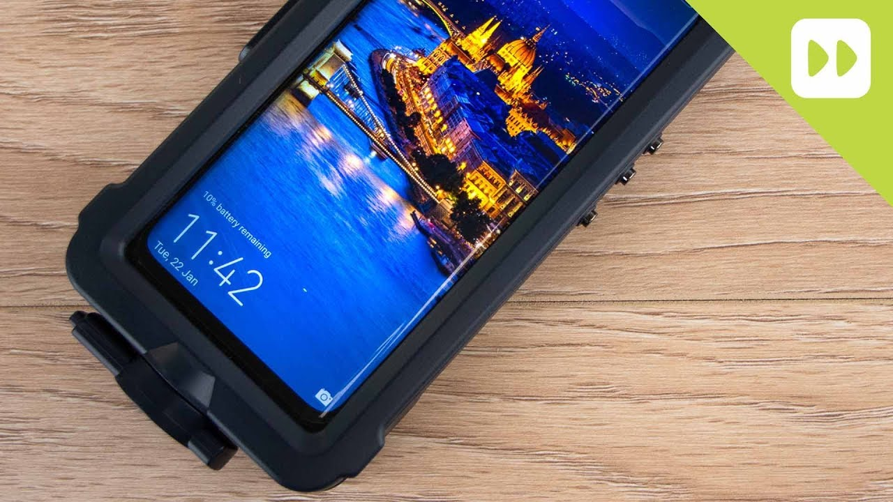 Official Huawei Mate 20 Pro Waterproof Snorkeling Case Review