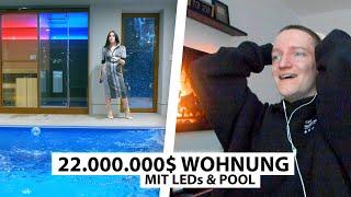 Justin reagiert auf 22.000.000$ Apartment in New York.. | Reaktion