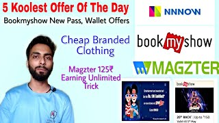 BMS New Pass & Wallet Offers, Cheap Branded Clothing, Earn 125rs Unlimited Times.