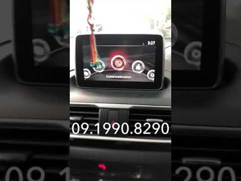 Hướng dẫn thay đổi hình nền trên màn hình xe ô tô Mazda