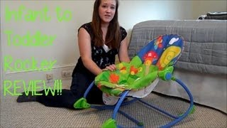 Fisher Price Infant To Toddler Rocker Seat Review! - Maymommy2011