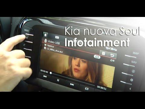 Kia soul il focus sull 39 infotainment youtube for Kia soul hdmotori