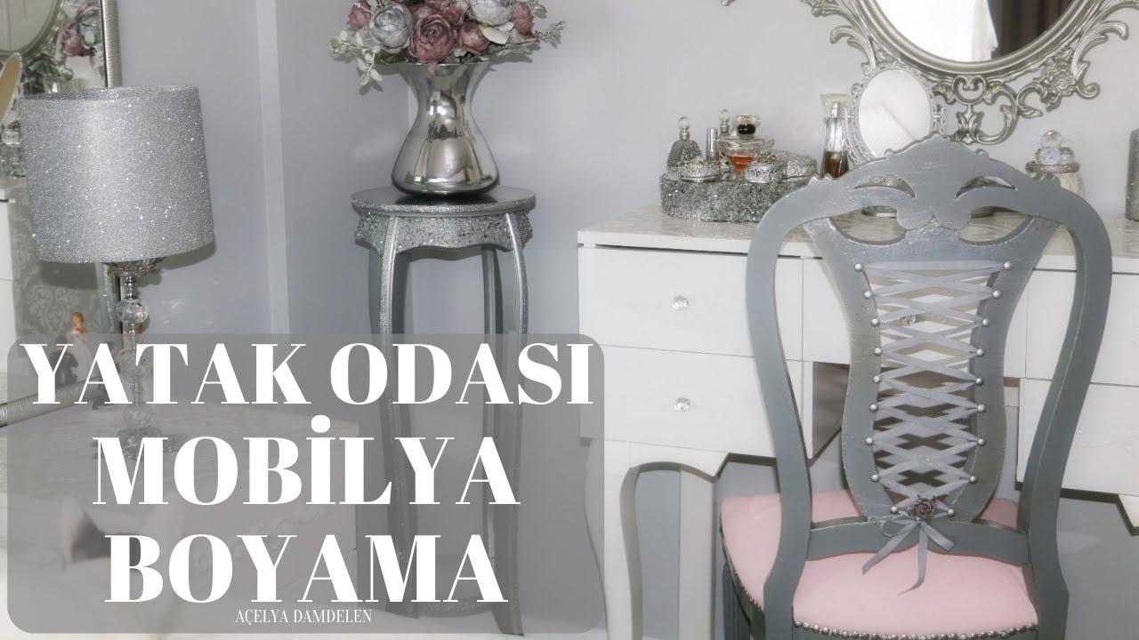 Yatak odasi mob lya boyama dekorasyon farkl proje for Mobilya yatak odasi