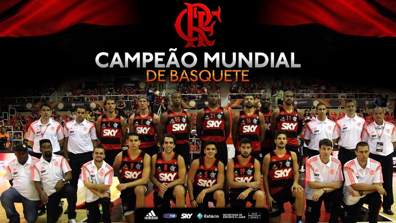 Resultado de imagem para flamengo campeão mundial de basquete