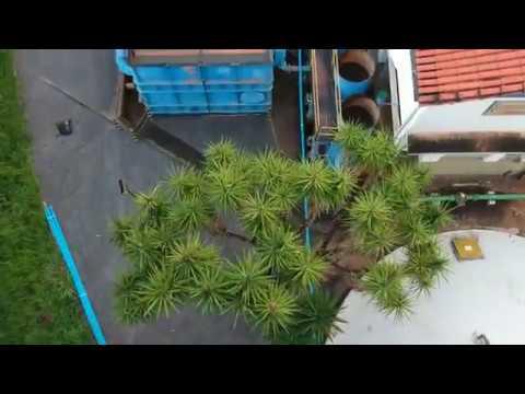 14.03.2018 - Imagens aéreas da captação de água em Santo Antônio do Grama (MG)