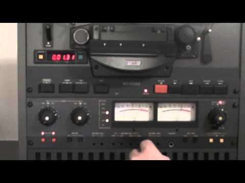 Otari MX-5050 BII-2  Calibrating to Quantegy 456