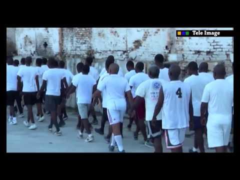 Tele Image - PNH les gardes cotes d'haiti - Studios Allo La Police detruit par le feu