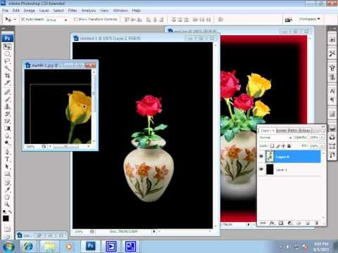 7iun Hướng Dẫn Photoshop CS3 - Sử dụng công cụ Pen để ghép hình